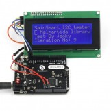 Sainsmart Leonardo R3 ATMEGA32U4 + IIC LCD 2004 USB Cable Kit For Arduino