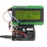 Sainsmart Leonardo R3 ATMEGA32U4 + IIC LCD 2004 Yellow USB Cable Kit For Arduino