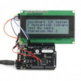 Sainsmart Leonardo R3 ATMEGA32U4 + IIC LCD 2004 White USB Cable Kit For Arduino