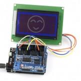 SainSmart Leonardo R3+12864 LCD+Sensor Shield V5 Kit For Arduino AVR ATmega8U2