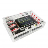 "SainSmart DSO138 2.4"" TFT Digital Oscilloscope Kit DIY parts ( 1Msps ) with probe + Acrylic DIY Case"