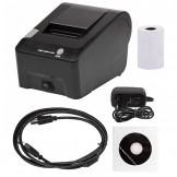 LG-P01® USB 58mm 100mm/s Direct Thermal Printer Black
