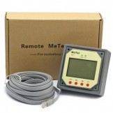 Solar Regulator 12-15A 12/24V, Remote Meter LCD Display