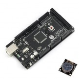 SainSmart MEGA2560 R3 Development Board + Free USB Cable + I2C RTC DS1307 AT24C32 Real Time Clock Model Compatible with Arduino