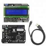 SainSmart Leonardo R3 + LCD 1602 Keypad For Arduino Compatible