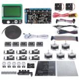 SainSmart Ramps V2 LCD12864 A4988 MK2b J-head Endstop 3D Printer Kit For RepRap