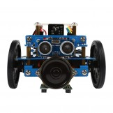 SainSmart InstaBots Rover Kit V1 - Premium Quality - STEM Education - Arduino  - Programmable Robot Kit for Kids to Learn Coding, Robotics and Electronics - Blue( Infrared Version - Family Prefer)