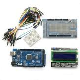 SainSmart Mega2560+LCD Keypad+Prototype Shield V3 Kit 4 Arduino ATMEL ATMEGA