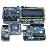 SainSmart UNO + Xbee + V5 Sensor Shield +1602 LCD Starter Kit 4 Arduino R3 Robot