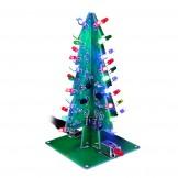 SainSmart 3D Christmas Trees LED DIY Kit Flash LED Circuit without case 3 colors