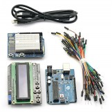 SainSmart UNO+1602 LCD Keypad+Prototype Shield Kit 4 Arduino AVR ATMEL ATMEGA R3