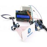 SainSmart UNO+LCD Keypad+Prototype Shield+HC-SR04 Distance Sensor Kit 4 Arduino