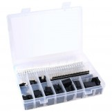 SainSmart 635 Pcs 40 Pin 2.54mm Pitch Single Row Pin Headers,Dupont Connector Housing Female,Dupont Male/Female Pin Connector Kit