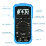 SainSmart DMT120 Mini Digital Multimeter DC/AC Voltage Current Tester