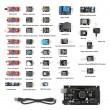 SainSmart Mega2560 R3 + 37 in 1 Sensor Module Kit for Arduino Compatible
