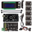 Mega2560+ Smart LCD 2004 Controller A4988 + RAMPS 1.4 3D Printer Kit For RepRap