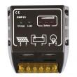CMP Solar Panel Charge Controller Regulator 15A 12V/24V Black New Durable