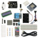 SainSmart UNO R3+2-Channel 5V Relay Starter Kit with 18 Basic Arduino Projects