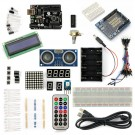 SainSmart UNO R3+Distance Sensor Starter Kit With 19 Basic Arduino Projects