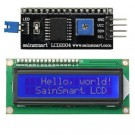 SainSmart IIC/I2C/TWI 1602 Serial LCD Module Display for Arduino UNO MEGA R3 *Blue on White*