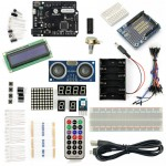 SainSmart Leonardo R3+Distance Sensor Starter Kit With 19 Basic Arduino Projects