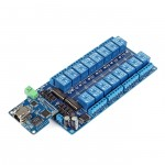 SainSmart iMatic with RJ45 Remote Controll 16 Channels WiFi Relay Model Kit for Arduino Relay Android iOS