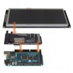 "SainSmart MEGA2560 + 7"" 7 Inch TFT LCD Screen SD Card Slot + TFT Shield For Arduino"