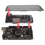 """SainSmart MEGA2560 R3+5"""" LCD Touch Panel SD Card Slot + Shield Kit For Arduino"""