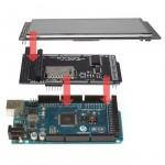"""SainSmart MEGA2560+5"""" LCD Touch Panel SD Card Slot + Shield Kit For Arduino"""