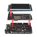 SainSmart Due Board+3.2 TFT Touch LCD Module Display+Shield Kit