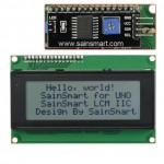 SainSmart IIC/I2C/TWI Serial 2004 20x4 LCD Module Shield For Arduino UNO MEGA R3 *White*