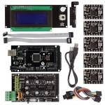 Mega2560+ Smart LCD 2004 Controller A4988 + RAMPS 1.4 3D Printer Kit For RepRap