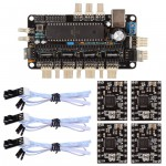 Sanguinololu Rev. 1.3 Atmega1284p + Endstop + A4988 3D Printer Kit For RepRap