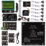 Ramps 1.4 + A4988 + Mega2560 R3 + Endstop + LCD 12864 Kit For RepRap 3D Printer