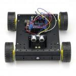 SainSmart UNO + HC-SR04 + 4WD Mobile Car +Sensor V5 + L298N for Arduino R3 Robot