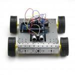 SainSmart 4WD Robot Car Mega2560 + Sensor Shield V5 +L298N + HC-SR04 for Arduino