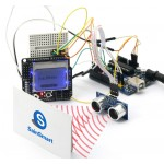 SainSmart UNO+LCD4884+Prototype+HC-SR04 Ultrasonic Distance Sensor For Arduino