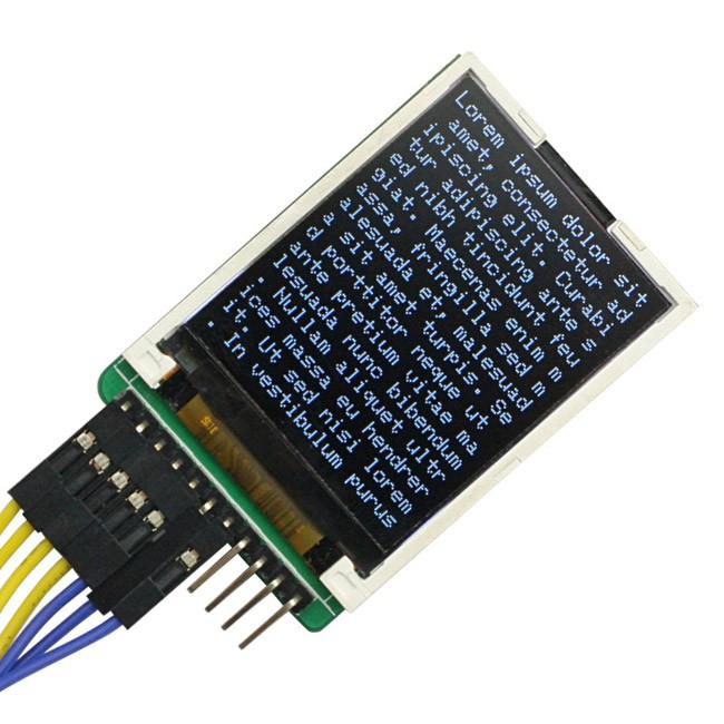 Sainsmart spi lcd module with microsd led backlight