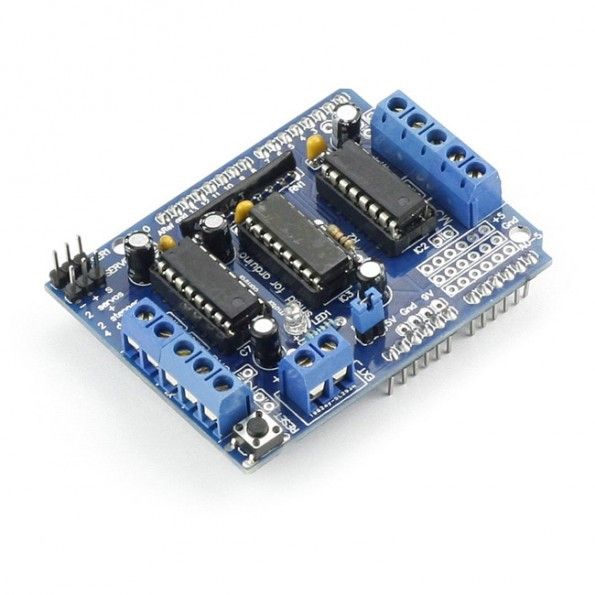 Sainsmart L293d Motor Drive Shield For Arduino Duemilanove