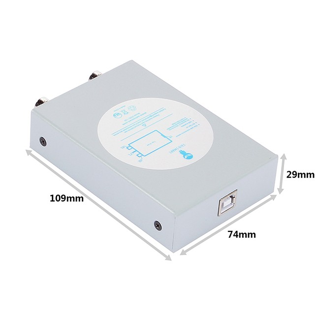 Best Usb Oscilloscope : Sainsmart dds silver pc based usb oscilloscope digital