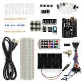 SainSmart UNO R3 Starter Kit mit 16 Basic Arduino Projekte