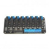 SainSmart 5V 2A Solid State Relay Module High Level Trigger Black (8 channel)