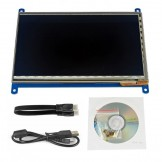 7inch HDMI LCD 800×480 Capacitive Touch Screen LCD for Raspberry Pi 2 Banana Pi/ Banana Pro Video Photo Module