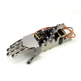 DIY 5DOF Robot Humanoid Five Fingers Metal Manipulator Arm Right Hand w/Servos for Robot