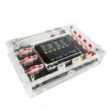 "SainSmart DSO138 2.4"" TFT Digital Oscilloscope Kit DIY parts ( 1Msps ) with probe + Acrylic DIY Case"