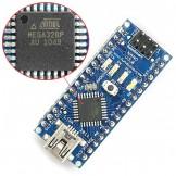 Atmel ATmega328-AU+Mini-USB Cable Full Compatible for Arduino Nano V3 A021