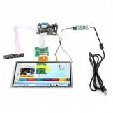 "SainSmart HDMI/VGA Digital 9"" 9 Inch Touch Screen LCD+Driver Board for Raspberry Pi 3 Model B Pi 2 Model B+"