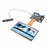 """SainSmart 7"""" LCD Display Screen TFT Monitor AT070TN90 with HDMI VGA Input Driver Board Controller for Raspberry Pi"""