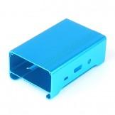 SainSmart NEW High Quality Aluminum Alloy Protective Case for Raspberry Pi Model RPi B+ & RPi 2(Blue)
