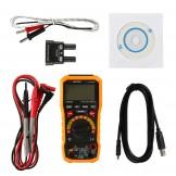 MS8236 Digital Multimeter AC DC Volt Current Meter with Auto Power off, Temperature Test